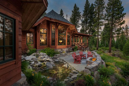 The Curated Home - Cabin in the Woods