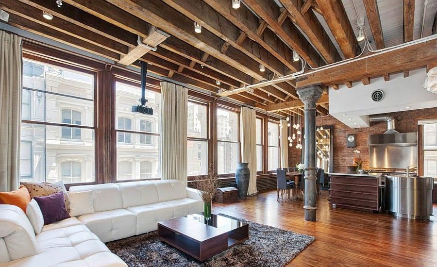 Contemporary Loft - Masculine Interior