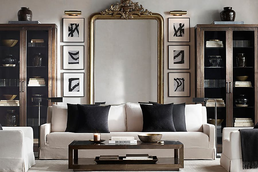 Masculine Living Room - Masculine Interior