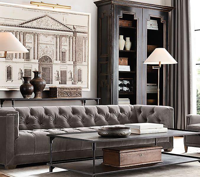 Modern Mans Living Room