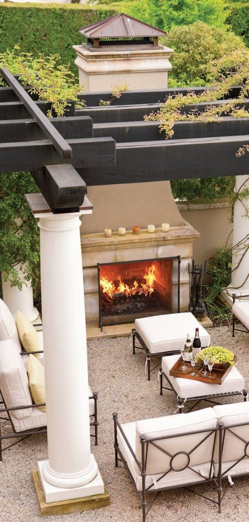 Spanish Style Outdoor Patio