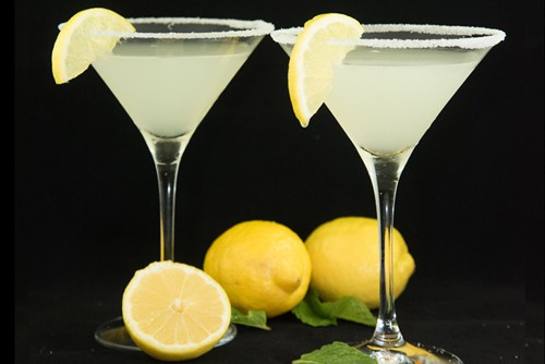 The Lemon Drop Martini