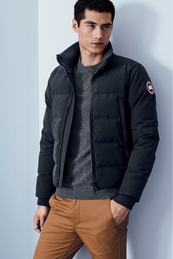 Canada Goose Woolford Down Bomber Jacket