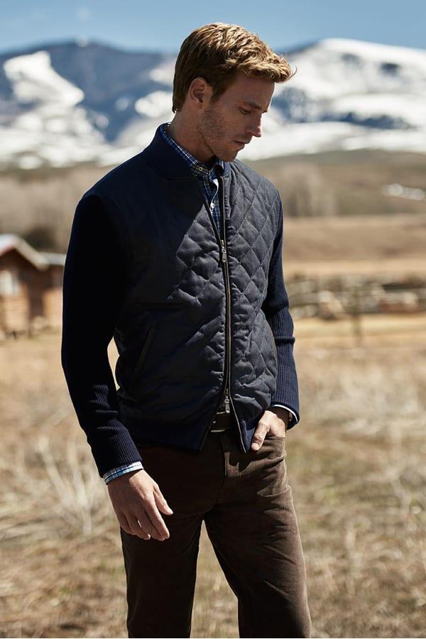 Peter Millar Tartan Shirt, Jacket & Pants