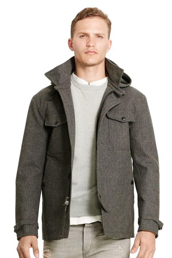 Ralph Lauren Bonded Wool Deck Jacket