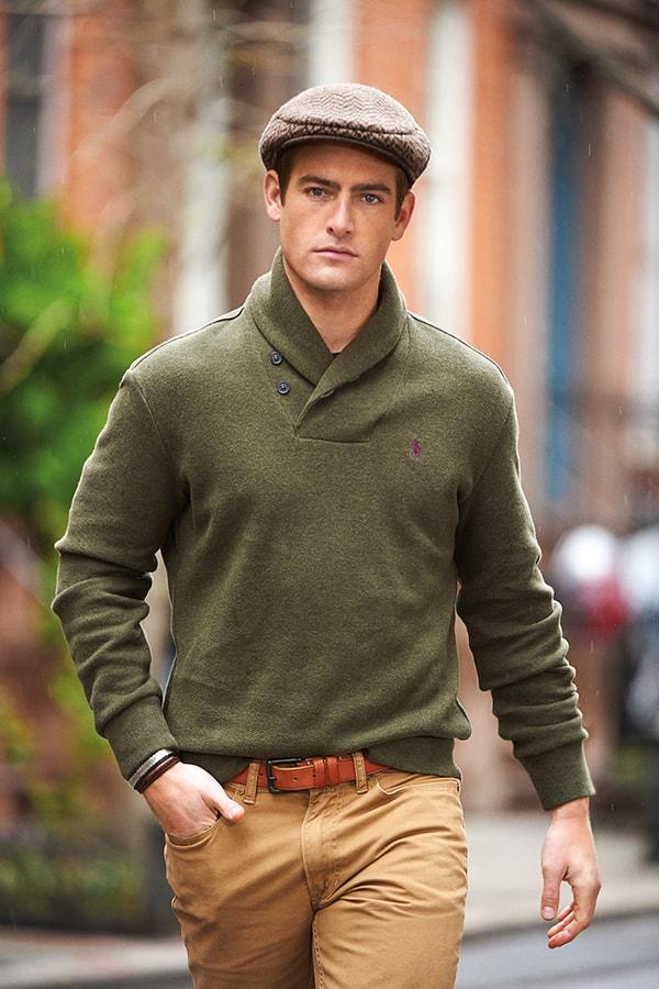 Ralph Lauren Estate Rib Cotton Pullover
