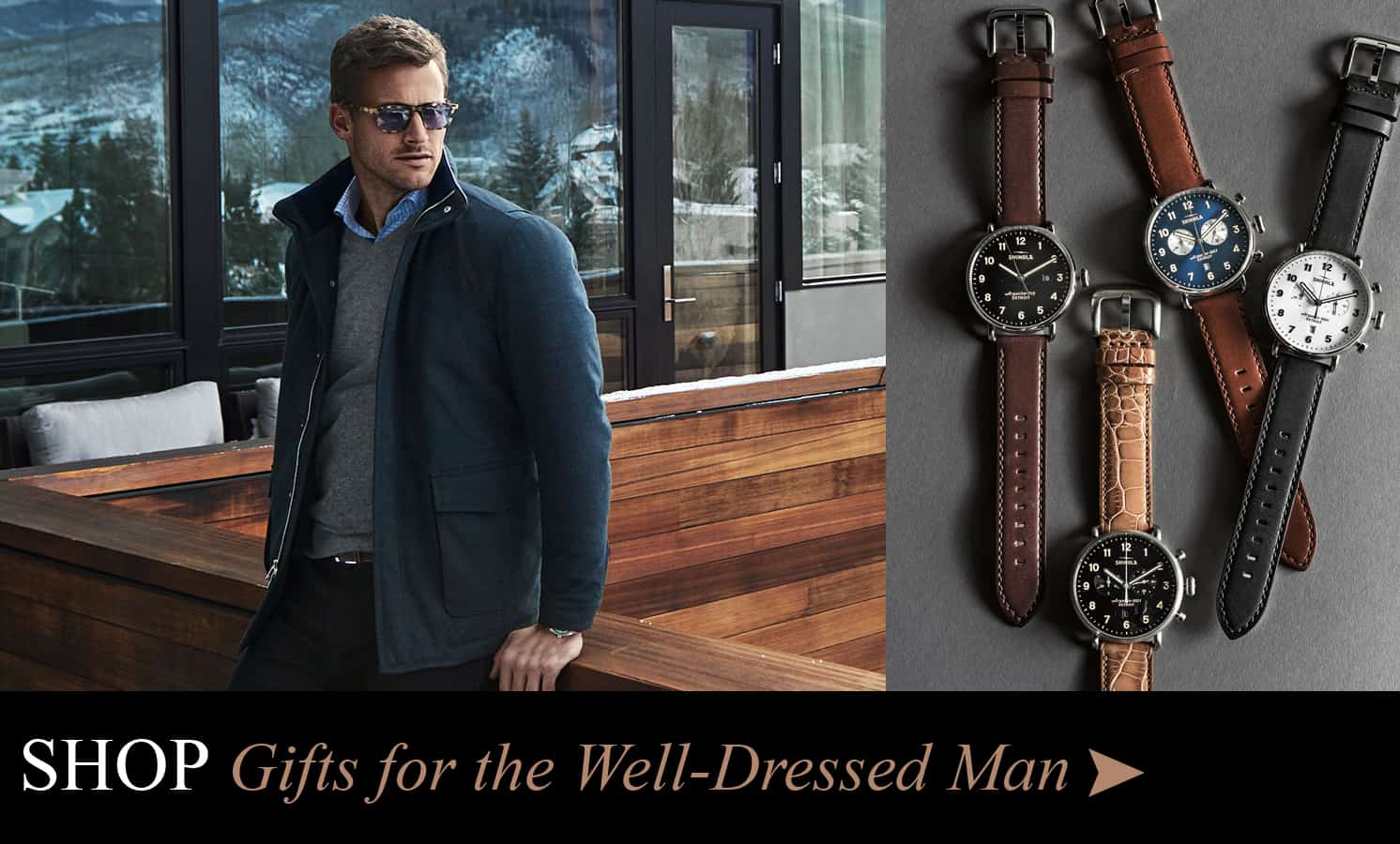 Shop Gifts for the Well Dressed Man