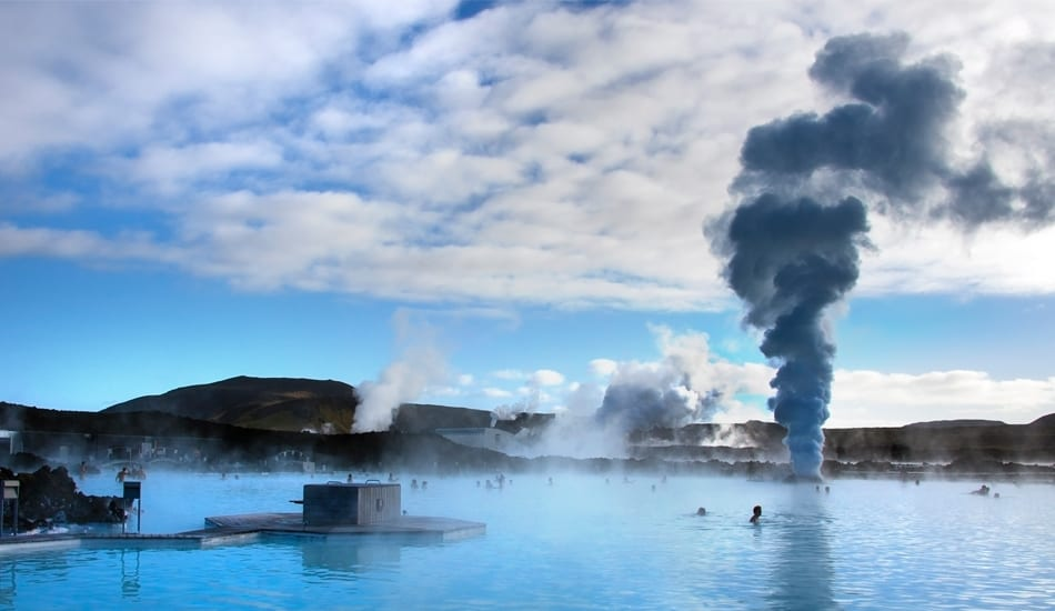 Blue Lagoon Geothermal Hot Springs Iceland