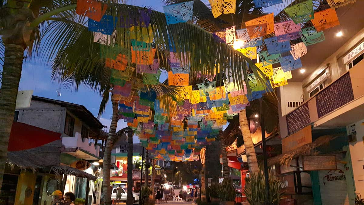 Evening In Sayulita