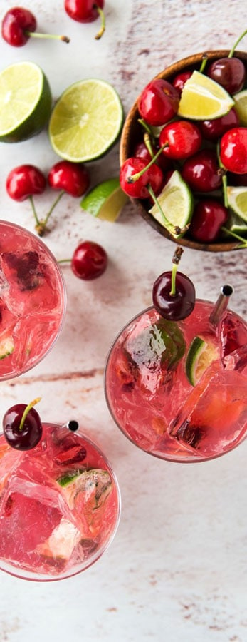 Cherry Cocktail Recipe