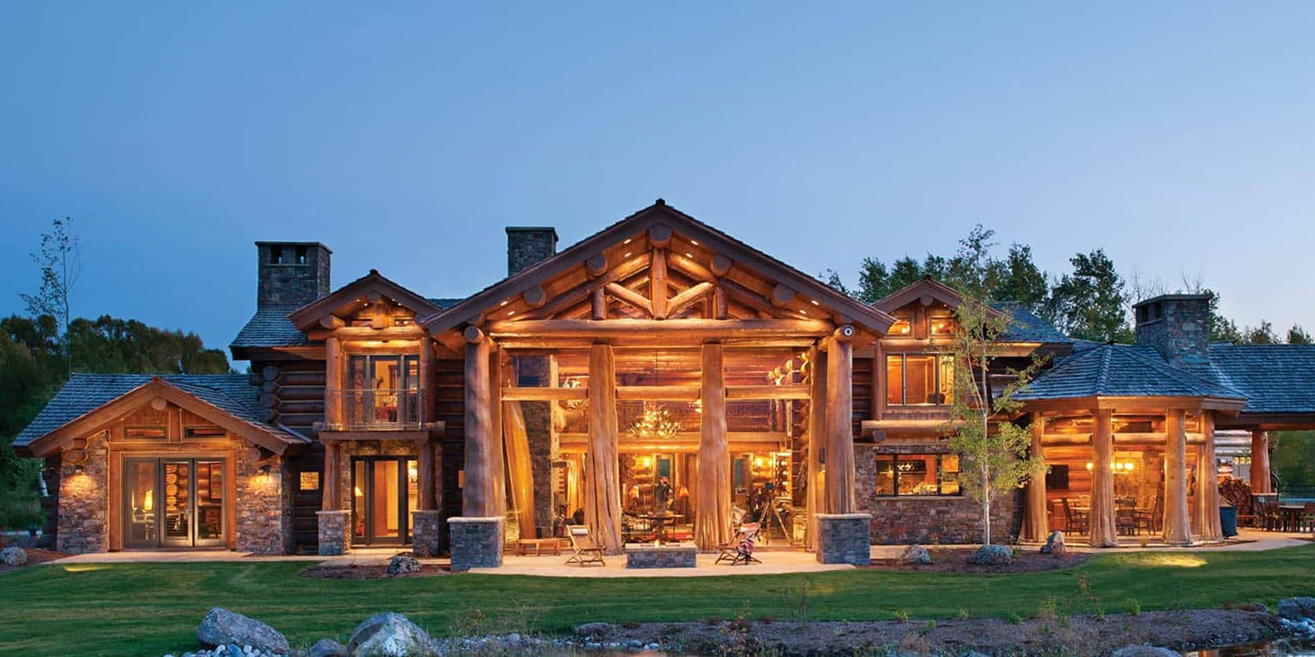 Handcrafted Log Home Precision Craft
